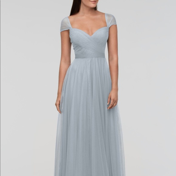 ac6d85870fa1 Watters Dresses | French Blue Candy Bridesmaid Dress | Poshmark